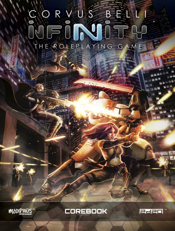 Infinity RPG Core-Book